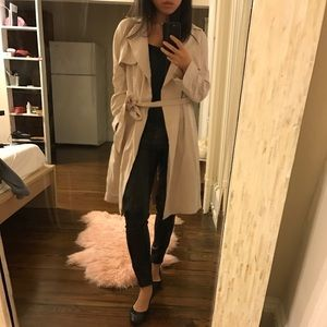 Jackets & Blazers - Blush Duster Coat